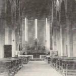 Chiesa di Sedcio - Altare originario