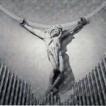 Chiesa di Sedico - Crocifisso e Organo