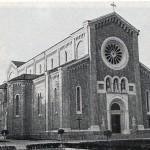 Chiesa di Sedico - Vista esterna anni 60