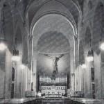 Chiesa di Sedico - Altare anni 70 e oggi