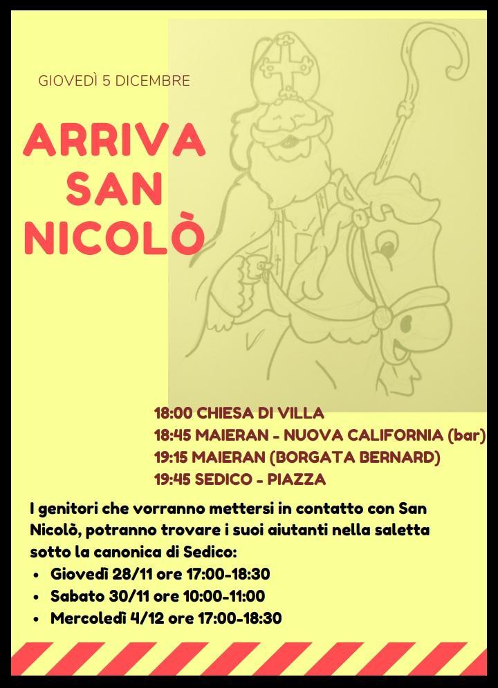 SAN NICOLO' 2019 - SEDICO