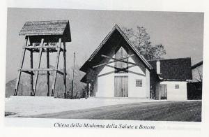Chiesa del Boscon - Facciata