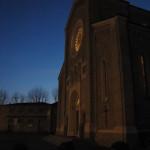Chiesa in notturna